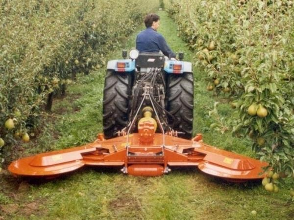 Variable Width Mowers with Wings - Series DR